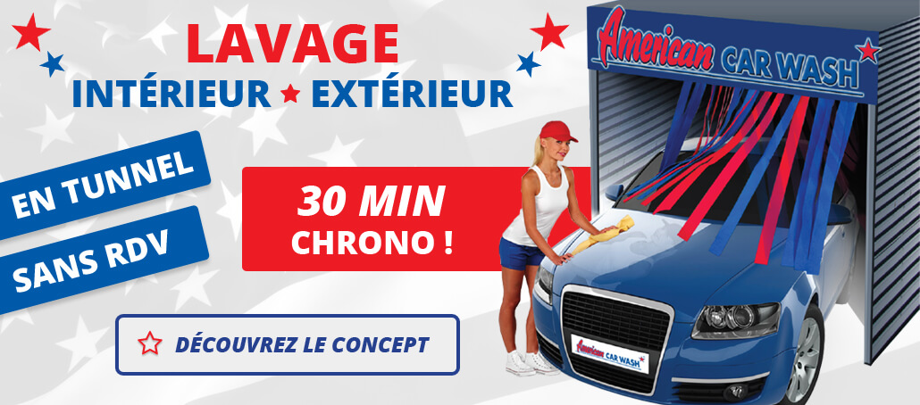 American Car Wash à Boulazac station lavage automobile
